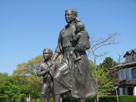 The Gloucester Fishermen's Wives Memorial