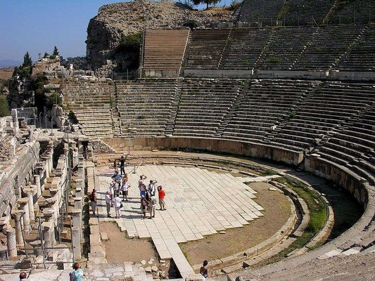Pamukkale Amphi Theatre