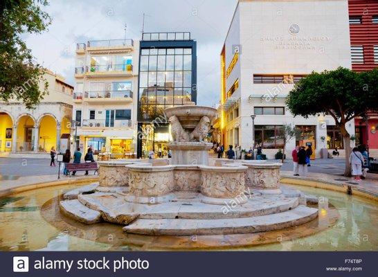 Morosini Lions Fountain