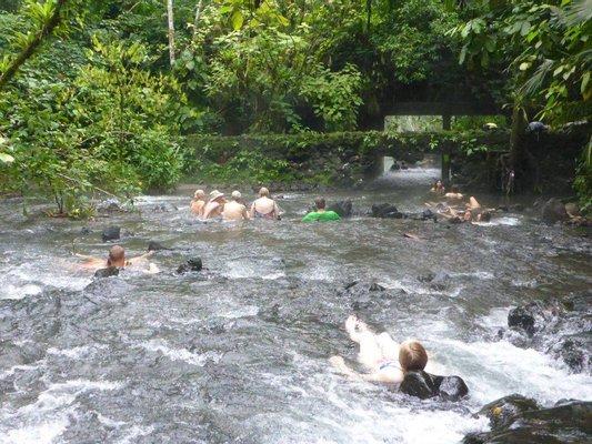 Free Natural Hot Springs River