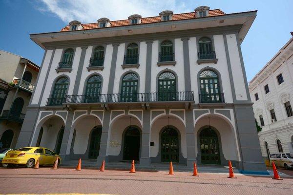 Panama Canal Museum.