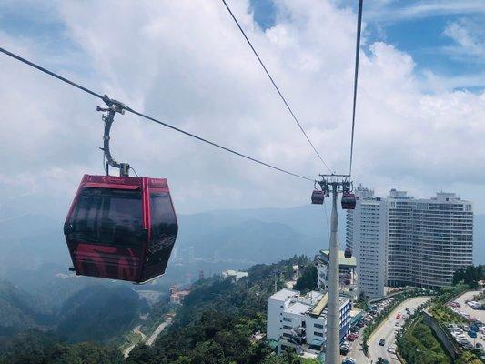 Awana SkyWay, Genting Highlands, Pahang.