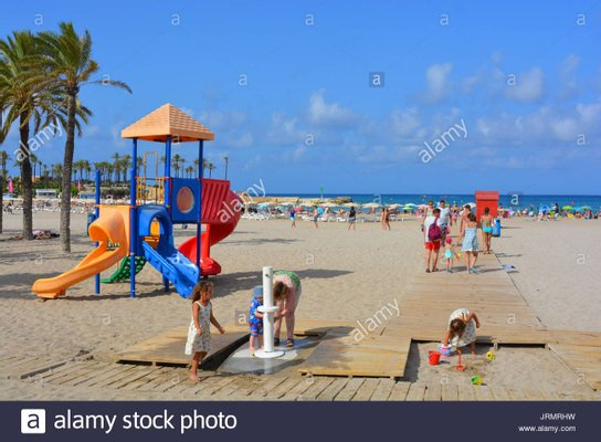 Play Area at Arenal Beach