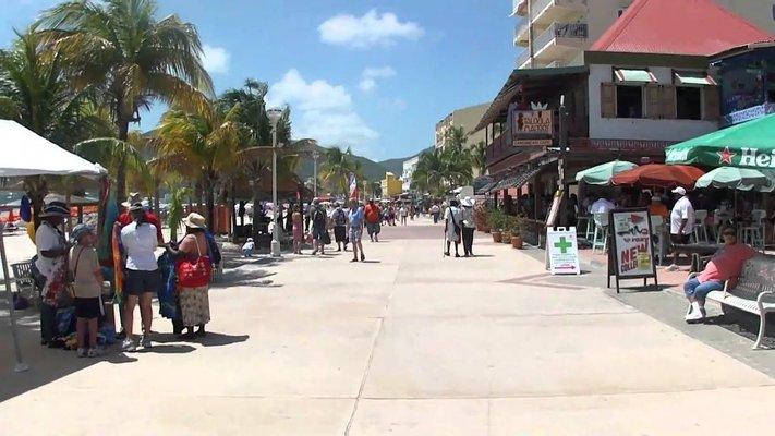 Boardwalk Philipsburg, Sint Maarten