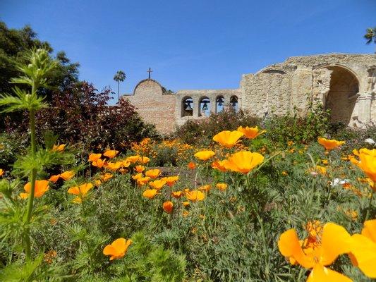 Mission San Juan Capistrano, Landmark, Chapel, Museum and Gardens