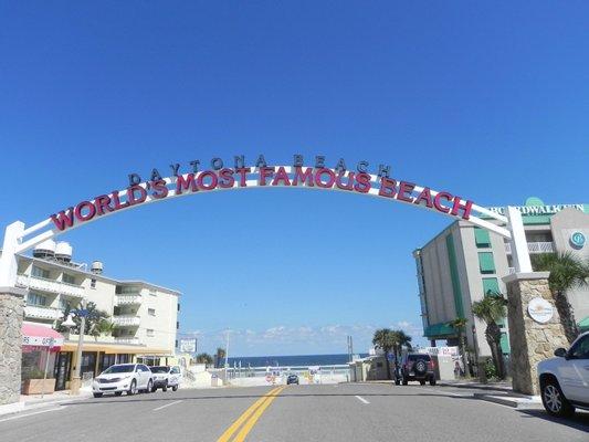 Worlds Most Famous Beach Daytona Beach