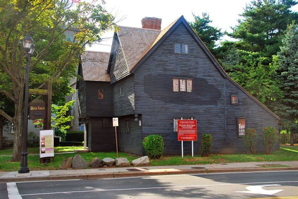 The Witch House at Salem