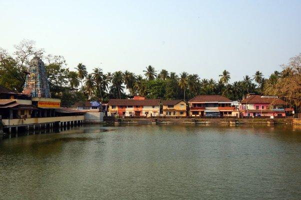 Tali Temple Pond