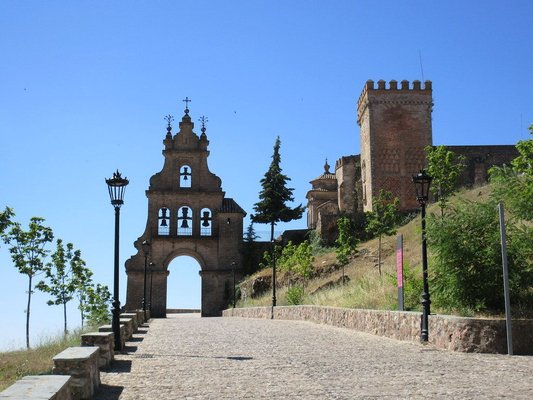 Bell tower of Iglesia del Castillo