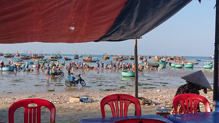 Mui Ne Fishing Village Market