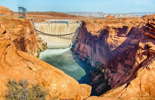 Glen Canyon Dam Overlook
