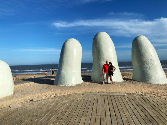 The Fingers of Punta del Este