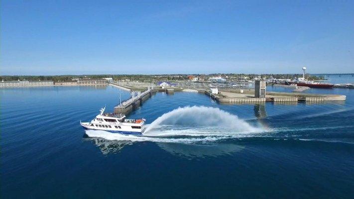Star Line Mackinac Island Ferry - Mackinaw City Dock #1