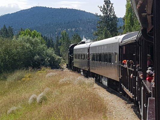 The Kettle Valley Steam Railway
