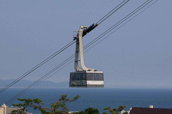Mt. Hakodate Ropeway - Mountain Base Station