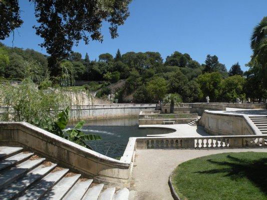 Jardín de La Fontaine