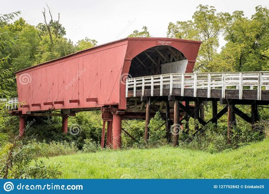 Roseman Covered Bridge