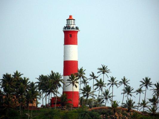 Vizhinjam Lighthouse (Kovalam Lighthouse) വിഴിഞ്ഞം ലൈറ്റ് ഹൗസ്
