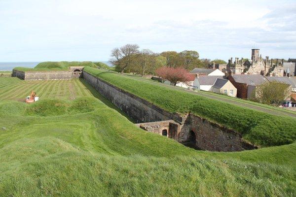 Berwick-upon-Tweed Castle and Ramparts