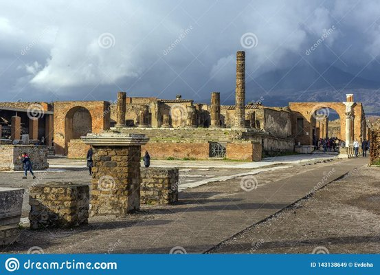 Reawakened Ancient City: Archaeological Areas of Pompeii
