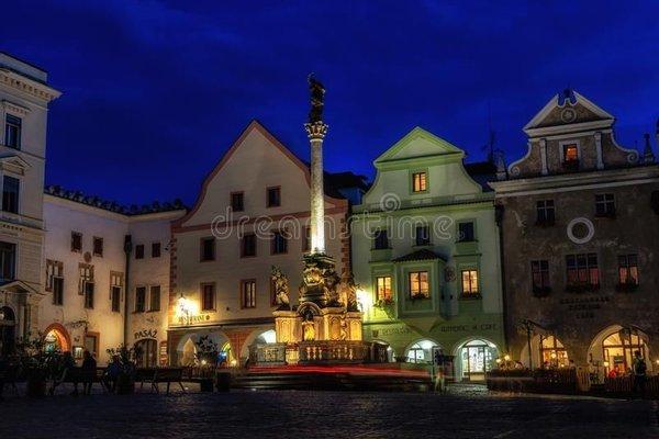 Fountain and Plague Column