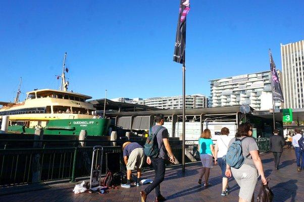 Circular Quay, Wharf 3