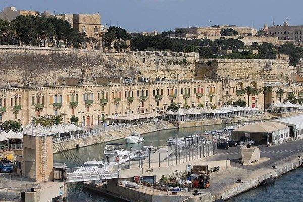 The Valletta Waterfront