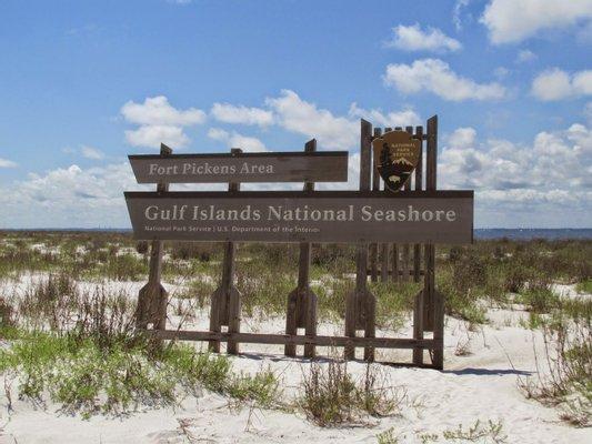 Fort Pickens Area of Gulf Island National Seashore
