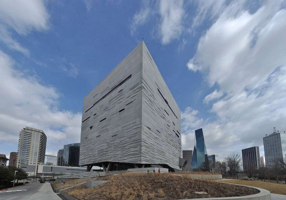 The Hoglund Foundation Theater at the Perot Museum of Nature and Science