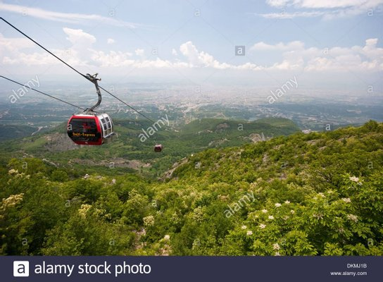 Dajti Express Cable Car