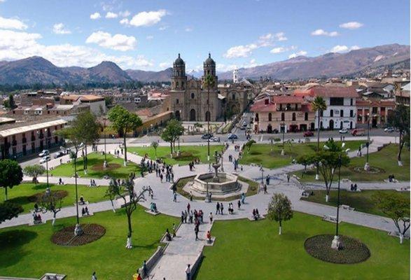 Plaza de Armas of Cajamarca