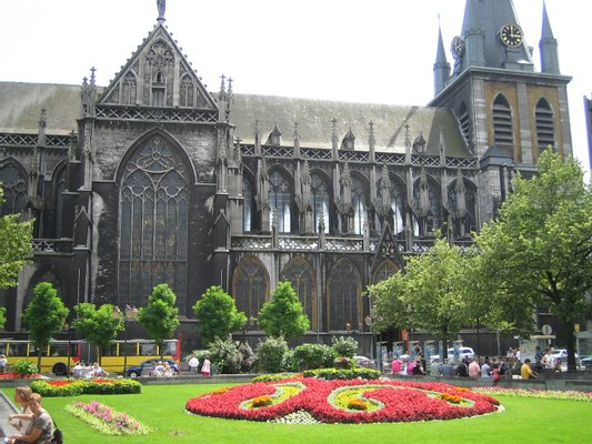 St. Paul's Cathedral in Liege