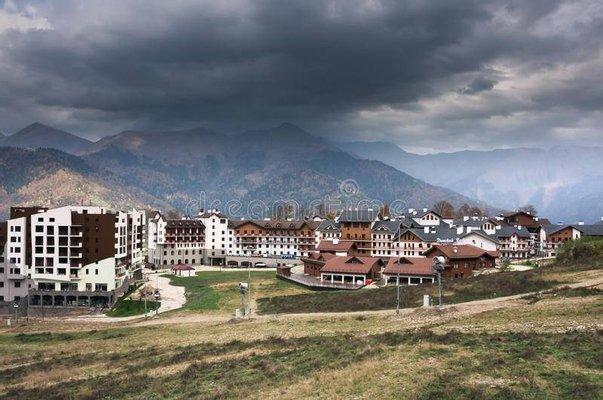 Gornyy Kurort Roza Khutor
