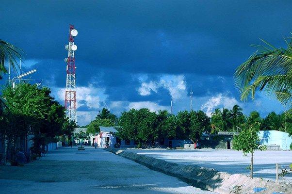 Maafushi Town