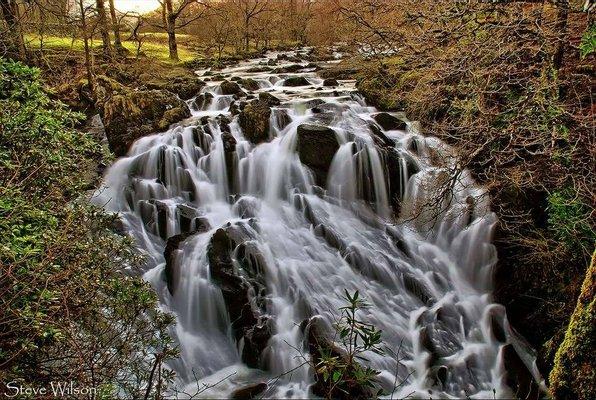 Swallow Falls Waterfall