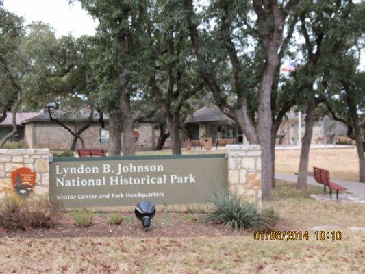Lyndon B. Johnson National Historical Park Visitor Center and Park Headquarters