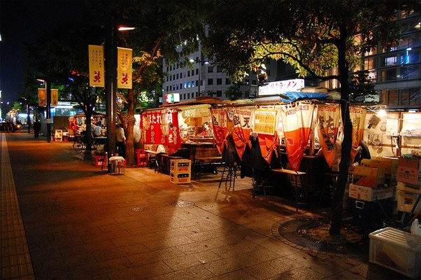 Food Stalls (Yatai)