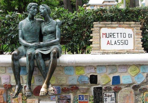 Muretto of Alassio