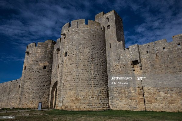 Tower and ramparts of Aigues-Mortes