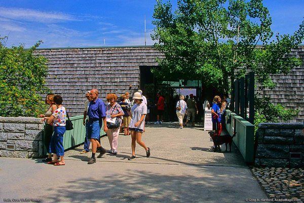 Hulls Cove Visitor Center