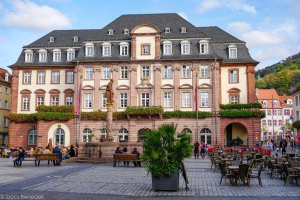 Heidelberger Marktplatz