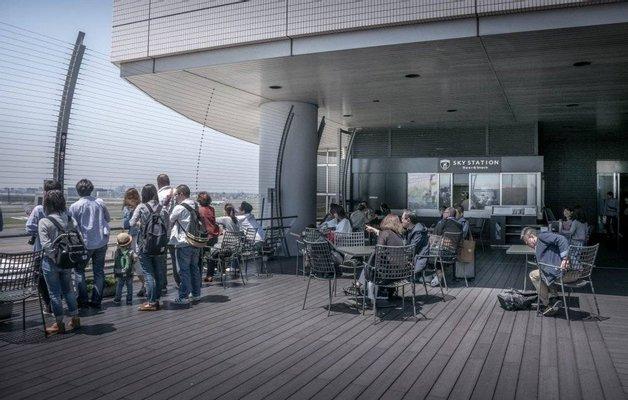 Haneda Airport Terminal 1 Observation Deck