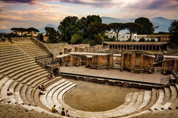 Great Theatre of Pompeii