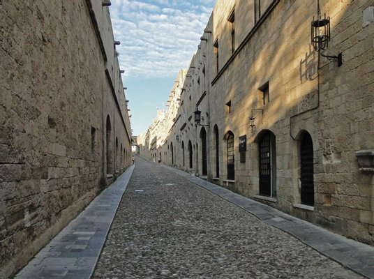 Street of the Knights of Rhodes
