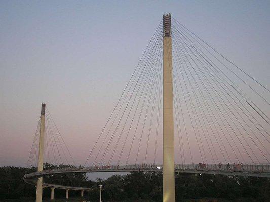 Bob Kerrey Pedestrian Bridge.