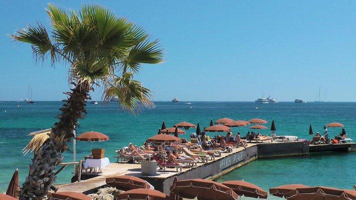 Juan Les Pins Beach