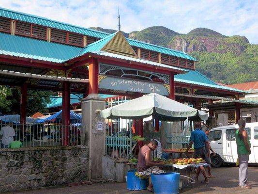Sir Selwyn Selwyn-Clarke Market. Victoria Market