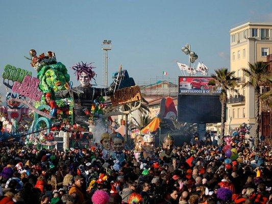 The Viareggio Carnival Citadel