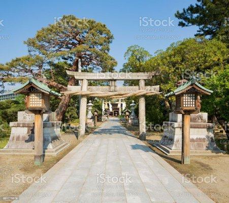 Hakusan Shrine Torii Gate