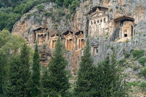 Dalyan Caunos Rock Tombs